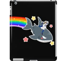 Wadanohara and the Great Blue Sea - Wadanohara and Samekichi riding the Rainbow iPad Case/Skin