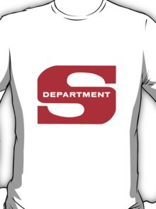 Department S (Large cutout) T-Shirt
