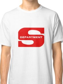 Department S (Large cutout) Classic T-Shirt