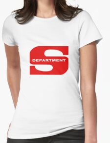 Department S (Large cutout) Womens Fitted T-Shirt