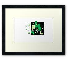 8-bits Framed Print
