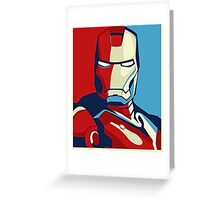 The Avengers - Vote for Iron Man (2) Greeting Card