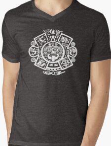 Mex Face Mens V-Neck T-Shirt
