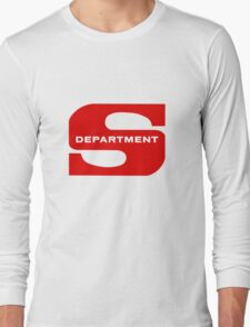 Department S (Large Solid) Long Sleeve T-Shirt