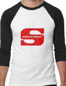 Department S (Large Solid) Men's Baseball ¾ T-Shirt