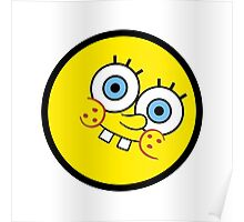 Funny Kid Face Poster