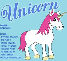 Unicorn With Title by mstiv