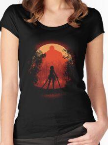 Elite Warrior  Women's Fitted Scoop T-Shirt