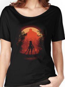 Elite Warrior  Women's Relaxed Fit T-Shirt