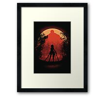 Elite Warrior  Framed Print