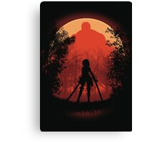 Elite Warrior  Canvas Print
