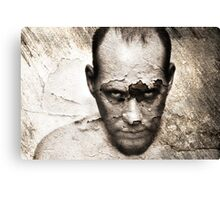 When The Cracks Begin To Show. Canvas Print