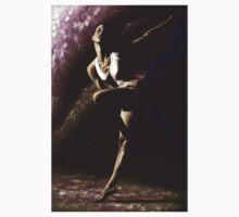 Contemporary Dancer Baby Tee