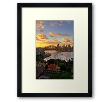 Portrait Of A City - Moods Of A City - The HDR Experience Framed Print
