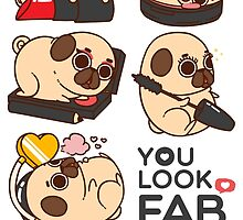 You Look Fab! -Puglie by Puglie  Pug