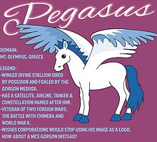 Pegasus With Title by mstiv