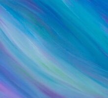 Magick Breeze Energy Painting  by Sapphire Moonbeam