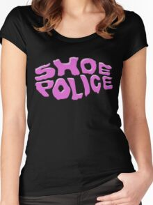SHOE POLICE Women's Fitted Scoop T-Shirt