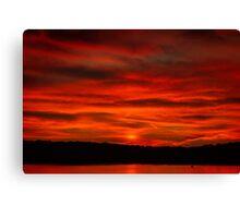 Dusk Burning Sunrise Canvas Print