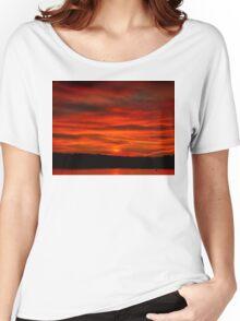 Dusk Burning Sunrise Women's Relaxed Fit T-Shirt