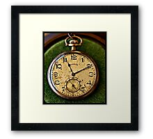 Grandpa's Pocket Watch Framed Print