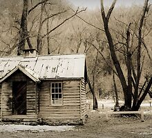 old house in Arrow Town, Queenstown, New Zealand by Brian Foose