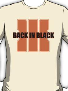Back In Black 3 T-Shirt