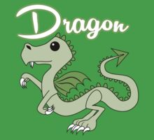 Dragon With Title Kids Clothes