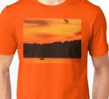Swimming in Sunset Skies Unisex T-Shirt
