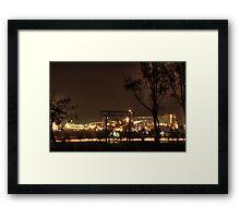 BHP Billiton Port Hedland, Western Australia Framed Print