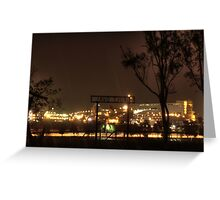 BHP Billiton Port Hedland, Western Australia Greeting Card