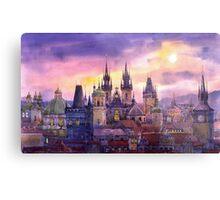 Prague City of Hundres Spiers variant Metal Print