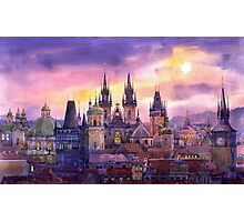 Prague City of Hundres Spiers variant Photographic Print