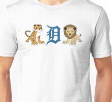 Detroit Lions & Tigers & Ds Unisex T-Shirt
