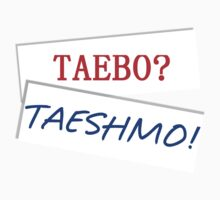 Taeshmo is the New Taebo One Piece - Short Sleeve