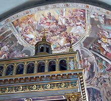 High Altar of St. John in Lateran by Lucinda Walter