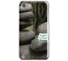 Be yourself - collaboration with Photography by Paloma iPhone Case/Skin