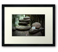 Be yourself - collaboration with Photography by Paloma Framed Print