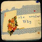 she wonders why? by purelydecorative