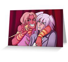 Marik and Bakura Photo Booth Greeting Card