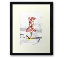 You Will Go To The Paper Towns.. Framed Print