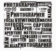 Photographer T-shirt by © Helen Chierego