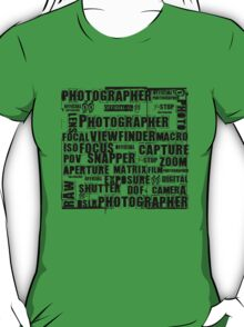 Photographer T-shirt T-Shirt
