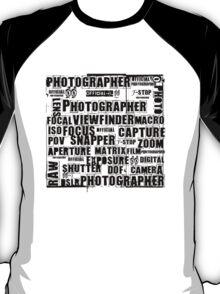 Photographer T-shirt T-Shirt
