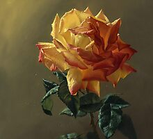 Roses happen from gold by Antonov