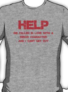 Minor Character Love T-Shirt