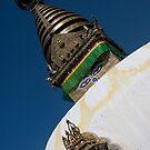 Kathmandu Temple by Mark Poulton