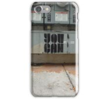 You Can - Stencil Art iPhone Case/Skin