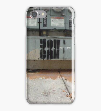 You Can - Stencil Art iPhone Case/Skin