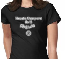 Hecate Campers 2.0 Womens Fitted T-Shirt